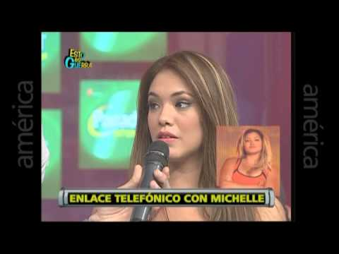 Esto es Guerra: Jazmín Pinedo responde a críticas de Michelle Soifer - 11/07/2013