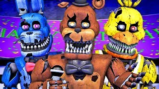 Five Nights at Freddy's Song (FNAF 4 Nightmare SFM)(µThunder Remix)