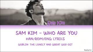 Sam Kim 샘김 - Who Are You (Goblin OST) (HAN|ROM|ENG) Lyrics
