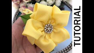 Flor mimosinha  Fita n 9  PAP  DIY By Suelen