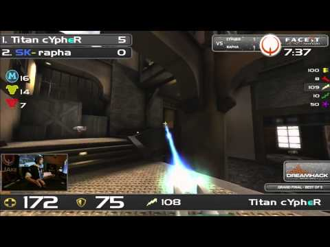 DHW2013 - Quake Live (GRAND FINAL) - Cypher vs rapha