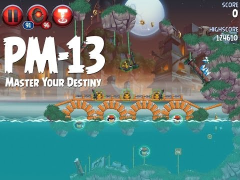 Angry Birds Star Wars 2 Level PM-13 Master Your Destiny 3 Star Walkthrough