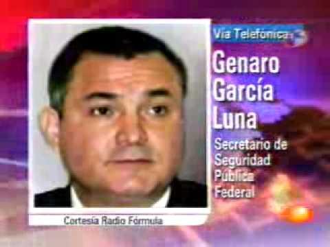 Genaro Garcia Luna presenta a El Teo: le vincula hasta con 600 ejecuciones
