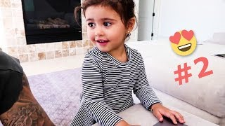 Elle's Cutest and Funny Moments #2 | The Ace Family