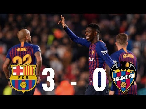 Barcelona vs Levante [3-0], Copa del Rey 2019, 2nd Leg - MATCH REVIEW