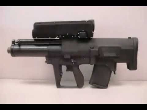 ATK - XM-25 Counter Defilade Target Engagement (CDTE) Rifle [480p]