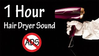 Hair Dryer Sound 53 | 1 Hour Binaural Recording | Lullaby to Sleep