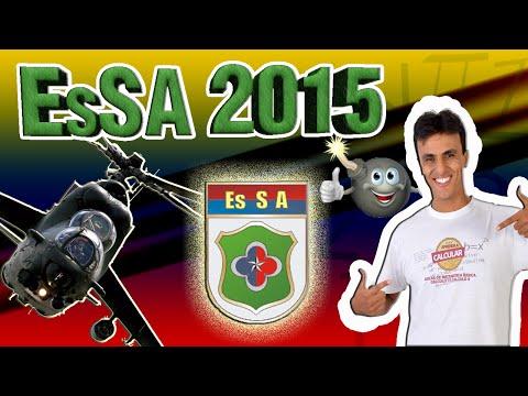 Esa 2016/EsSA 2016 -Correção da Prova 2015/Concursos militares / Exército / Sargento