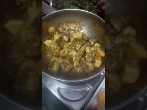 Easy chicken fry recipe in Telugu