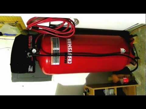 Craftsman 60 gallon air compressor