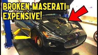 How to DIY Maserati Granturismo Major Service and SAVE $2,000