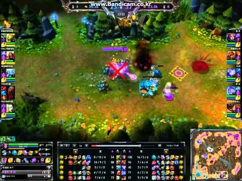 League Of Legends Shorts - Korean Utopian High Skill Leblanc [urf] - April 2014 video