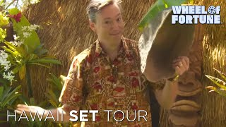 Wheel of Fortune: Hawaii Set Tour with Jim!