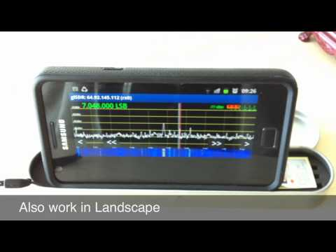 Software-Defined Radio (SDR) on an Android Phone