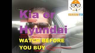 Thinking about BUYING a Kia or Hyundai Vehicle? Watch this video FIRST