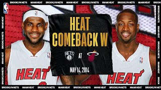LeBron & Wade Lead HUGE Comeback | #NBATogetherLive Classic Game