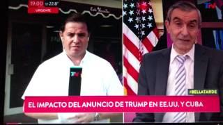 Trump decidió enfriar las relaciones con Cuba y lo confirmó en MIami