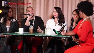 DJ Envy & Gia Casey Talk Money & Relationships @ Wealth Wednesday's (Part 2)