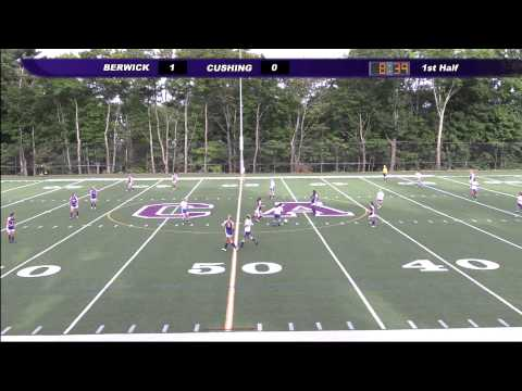 Cushing Academy-Varsity Girls Soccer vs. Berwick Academy