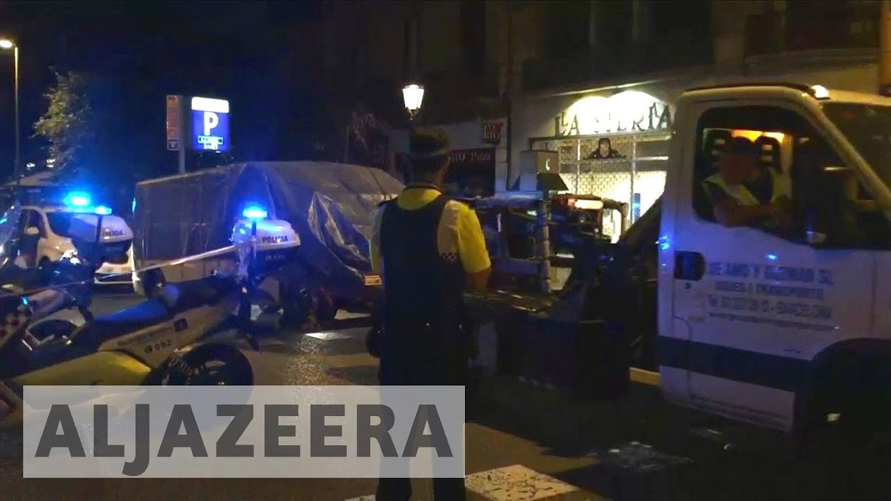 Police arrest four suspects following Spain attacks