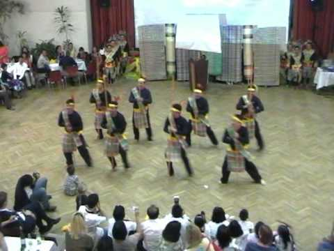 """KAPUNUNGAN SA MGA BISAYA SA AUSTRIA"""" Sandugo DANCE""""(KBA NIGHT2009)"""