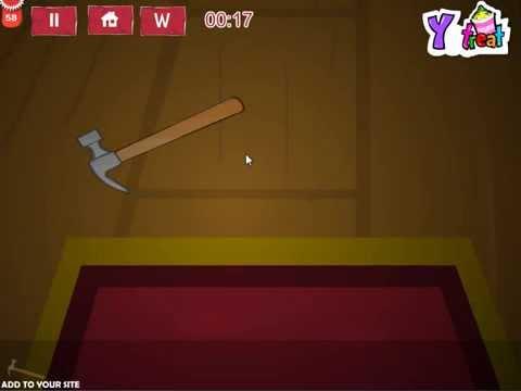Wooden basement room escape game walkthrough youtube for Small room escape 9 walkthrough