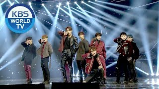 SEVENTEEN - THANKS + Getting Closer   세븐틴 - 고맙다 + 밤 [2018 KBS Song Festival / 2018.12.28]