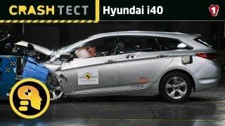 Hyundai i40. Краш-тест.