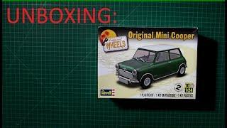 Mini cooper model car unboxing