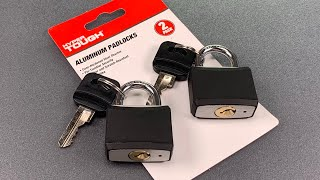 "[933] Walmart's Defective ""Hyper Tough"" Padlocks Picked and Bypassed"
