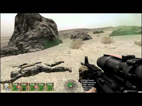 Arma 2- ICEF Training Day- part 6- Medivac Test