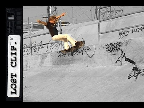 Chad Bartie Lost Skateboarding Clip #49 Ditch Feeble