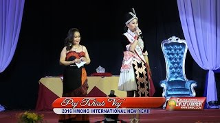 SUAB HMONG E-NEWS: Q & A from the finalist 2016 Miss Hmong International contestants