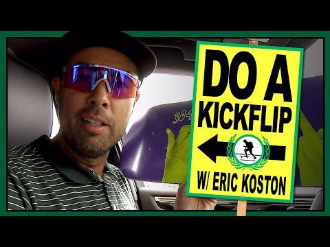 """Do A Kickflip!"" with Eric Koston - Part 4: Venice"