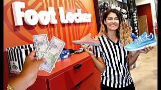 $100 Footlocker Back to School Challenge! (What shoes can you buy for $100?)