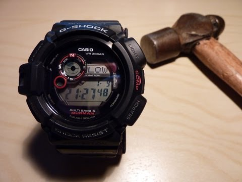G-Shock GW-9300-1JF review