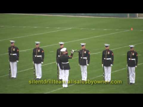 Silent Drill Team 2008 Video USMC Marine Corps