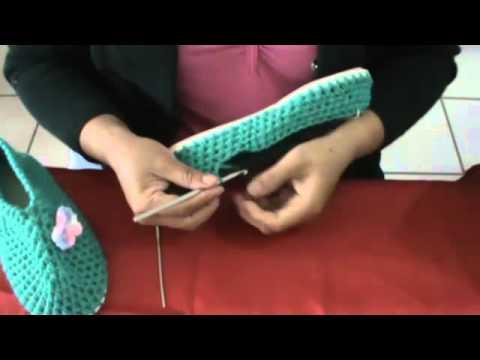 Pantuflas con plantilla BIEN EXPLICADO [Parte 1 de 2] - YouTube