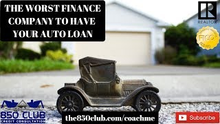 The Worst Auto Loan Company I've Ever Seen - myFICO, Loan Process,Report,APR,Increase,Installment