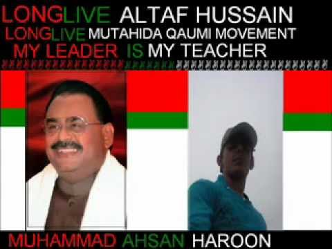 Mqm Punjab Song Sada Quaid  Altaf.wmv video