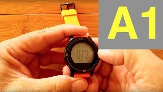 Makibes A1 Smart Sports Watch: Unboxing and Review