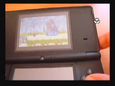 Running GBA roms on Nintendo DSi