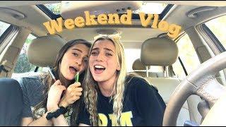 WEEKEND VLOG ( car karaoke, mall trip, football games & more! )