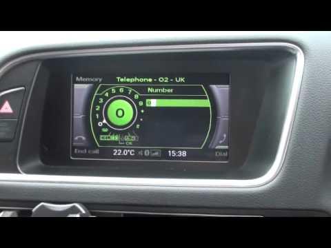 Audi Q5 Bluetooth Phone installation by audiretrofit.com - YouTube
