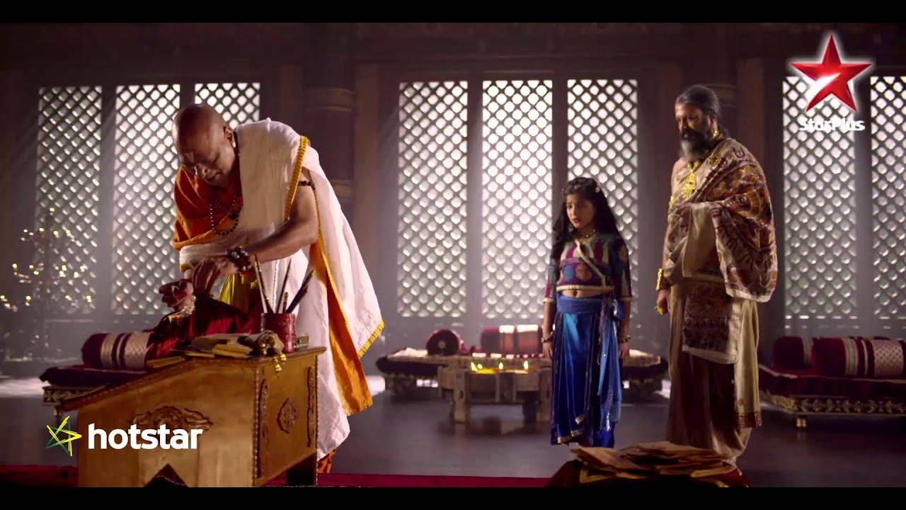 Sita questions Maharishi Gautam