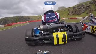 19th to 1st in 12 minutes.. 9 Yr old in AMAZING Comeback Drive! Onboard Camera with commentary