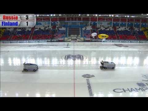 Russia - Finland (Bandy world championship, Khabarovsk)