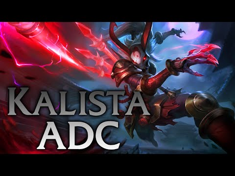 League of Legends Blood Moon Kalista ADC Full Game Commentary