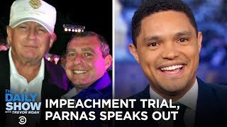The Senate Impeachment Trial & Lev Parnas's Maddow Chat | The Daily Show