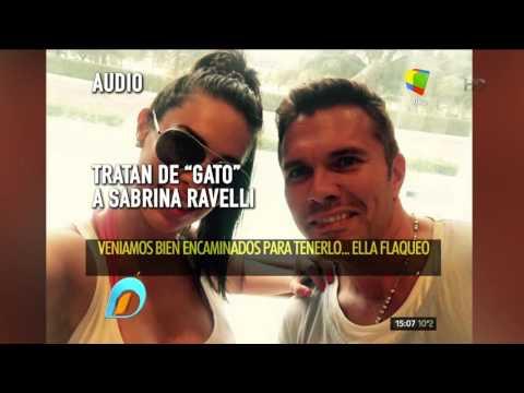 El ex de Sabrina Ravelli aseguró que era un Gato y luego se arrepintió